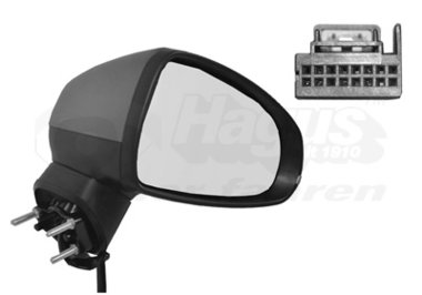 Buitenspiegel elektrisch verstelbaar rechts | verwarmd/primer 6Pi Audi A1 (8X)