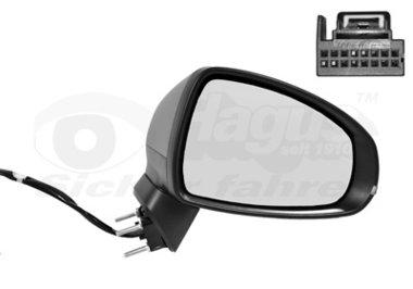 Buitenspiegel elektrisch verstelbaar rechts | verwarmd/primer 8Pi | elektr. Inklapbaar Audi A1 (8X)
