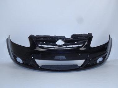 Voorbumper Opel Corsa D   Black sapphire  Z20R