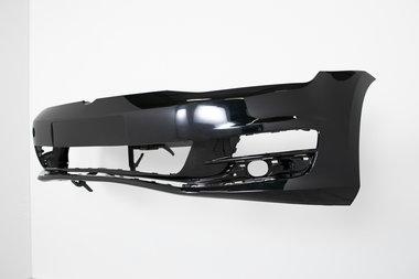 Voorbumper Volkswagen Golf 7   Deep Black  LC9X