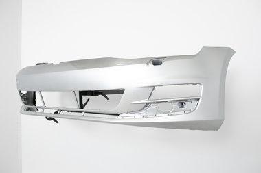 Voorbumper Volkswagen Golf 7   Reflex Silver  LA7W